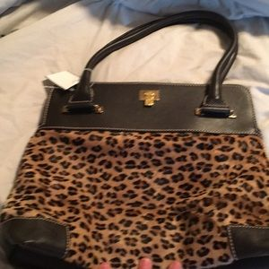 Handbags - REAL FUR & LEATHER LAMBERTSON TRUEX, store $1500